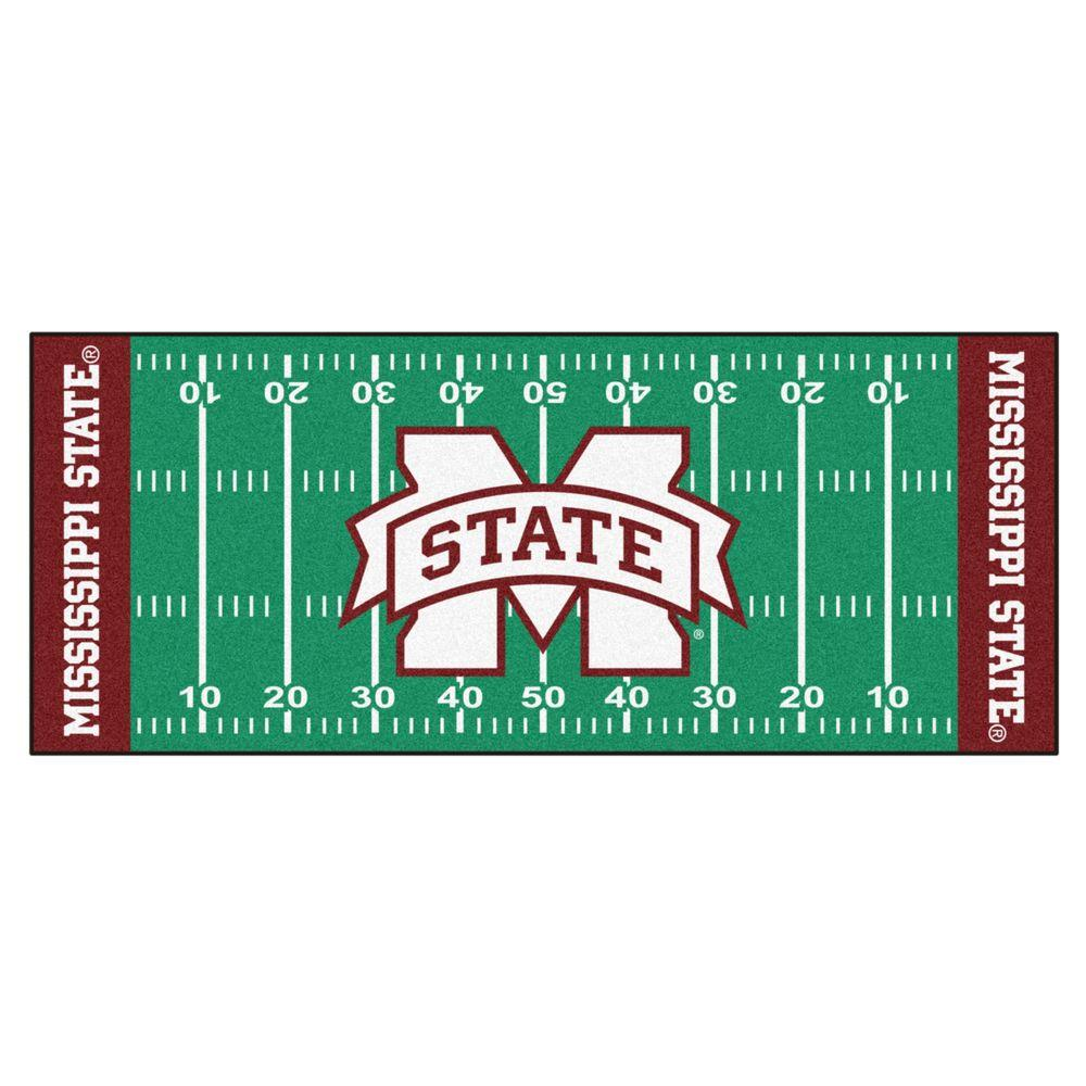 NCAA Mississippi State University Green 2 ft. 6 in. x 6