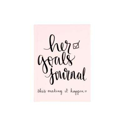 Dayna Lee 5 in. x 7 in. Guided Her Goals Journal