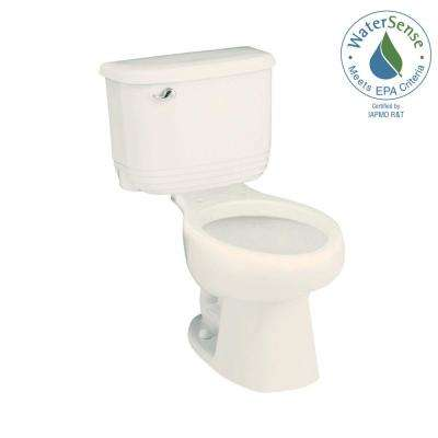 Riverton 2-piece 1.28 GPF Single Flush Elongated Toilet in Biscuit