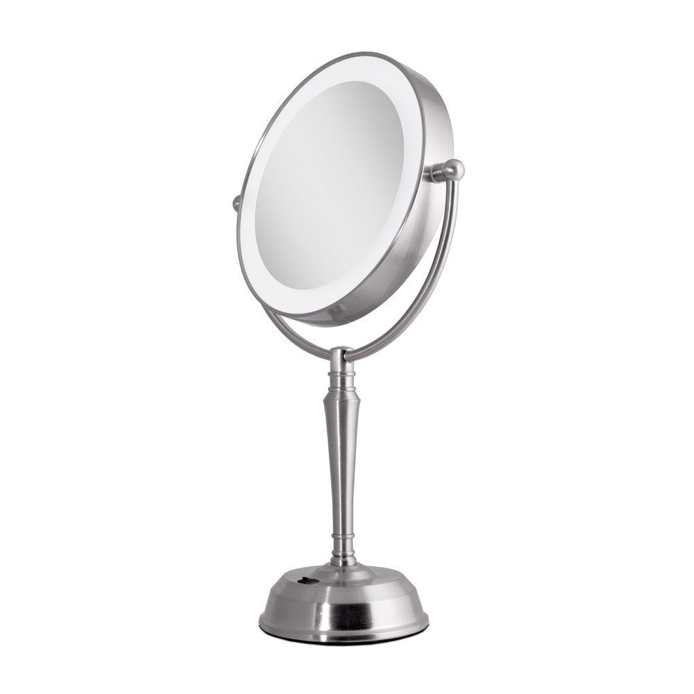 Zadro 11 In X 19 Led Lighted 10x 1x Vanity Mirror With