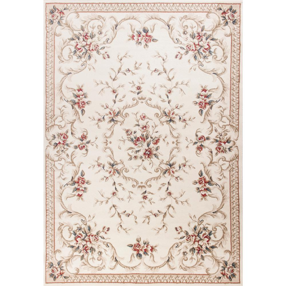 MILLERTON HOME Ajay Ivory 3 ft. x 5 ft. Area Rug