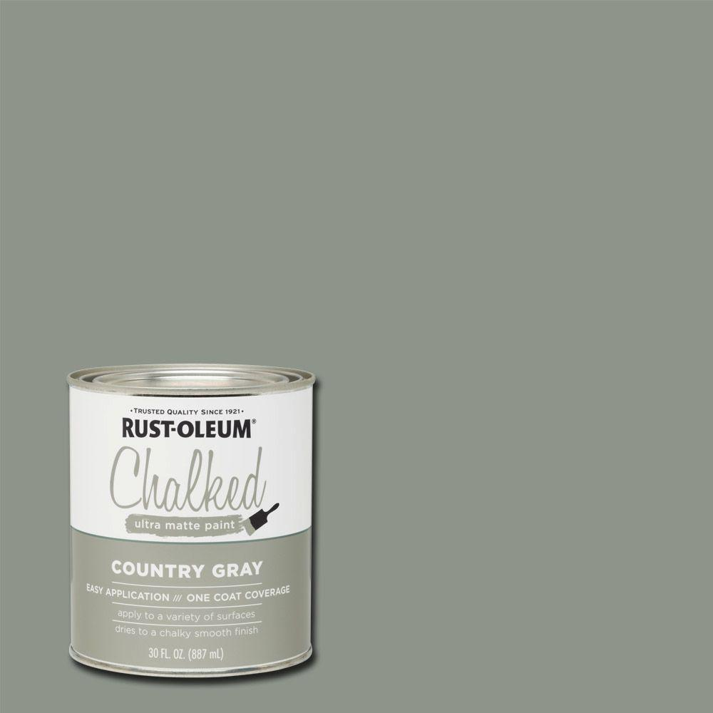 Chalk Paint Aged Gray Rustoleum