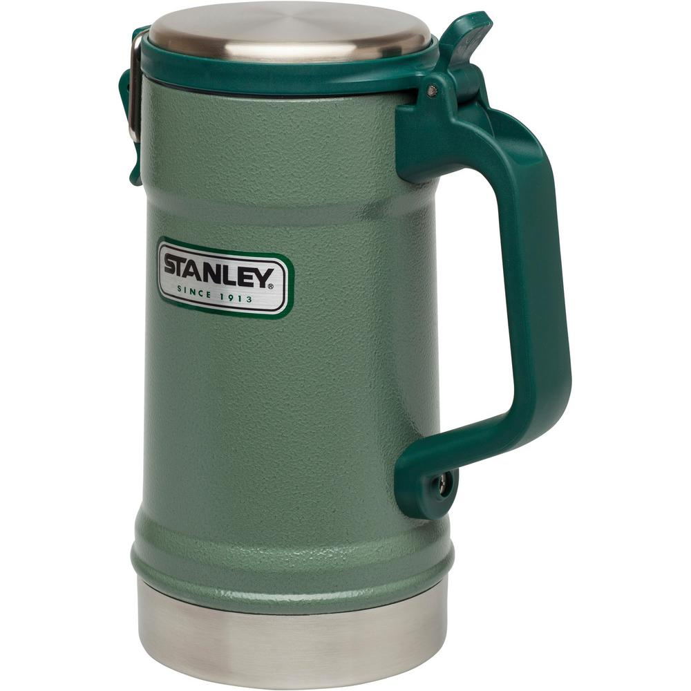 Stanley Classic Vacuum Stein Hammertone Green 10 02114 001 The Home Depot