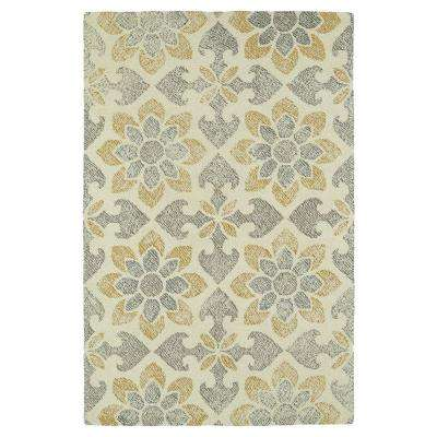 Montage Ivory 8 ft. x 10 ft. Area Rug