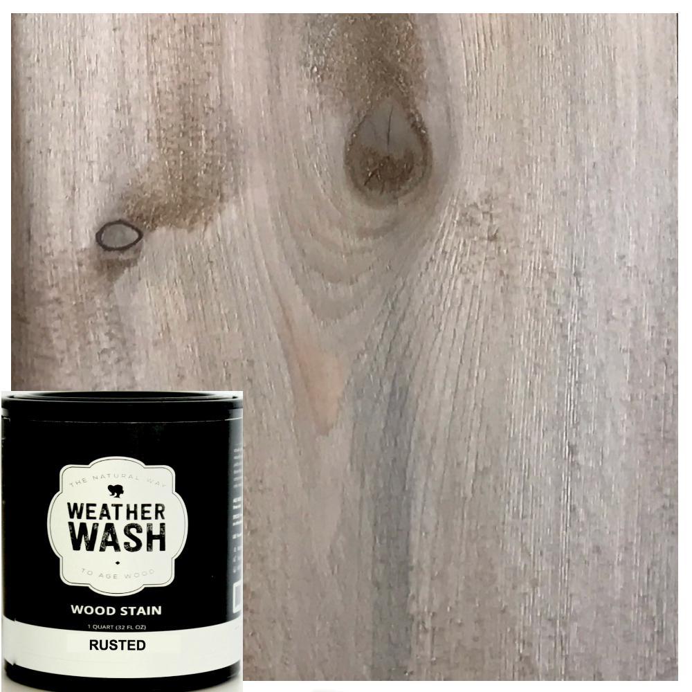 1 gal. Rusted Interior Weatherwash Aging Stain
