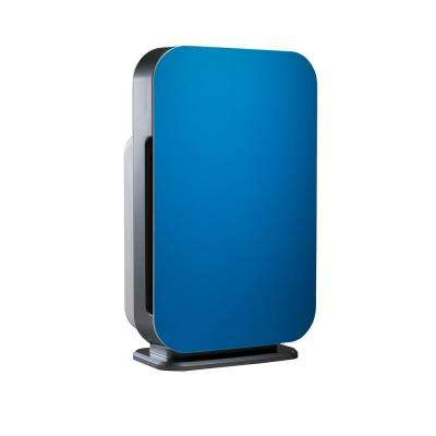 Customizable Air Purifier with HEPA-Silver Filter to Remove Allergies Mold and Bacteria in Blue