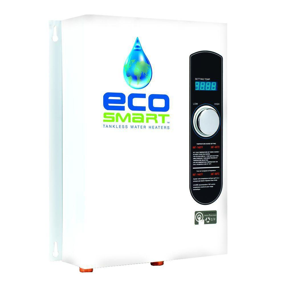 18 kW Self-Modulating 3.5 GPM Electric Tankless Water Heater