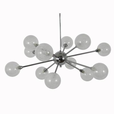Susan 12-Light Chrome Pendant Light