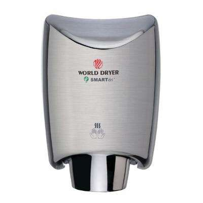 SMARTdri Electric Hand Dryer in Brushed Chrome