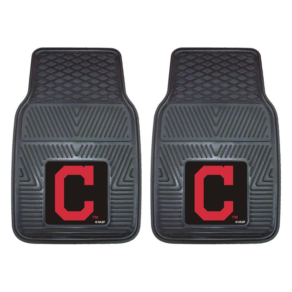 Cleveland Indians 18 in. x 27 in. 2-Piece Heavy Duty Vinyl