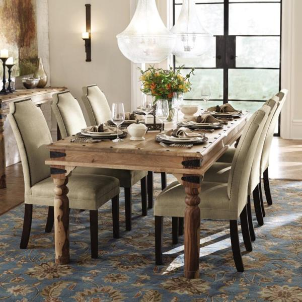 Fields Weathered Brown Dining Table