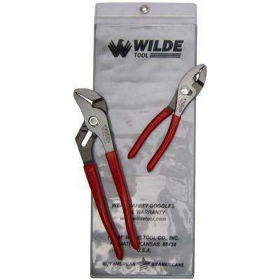 6-1/2 in. x 10 in. Pliers Mix Set (2-Piece)