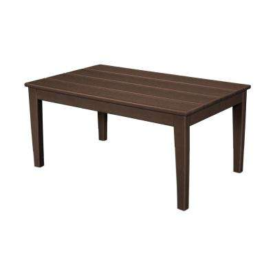 Newport 22 in. x 36 in. Plastic Outdoor Coffee Table