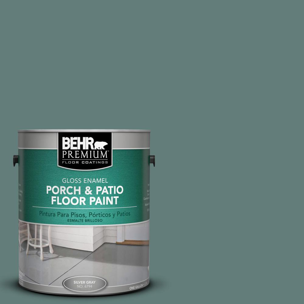 1 gal. #N430-5 Aspen Valley Gloss Porch and Patio Floor Paint