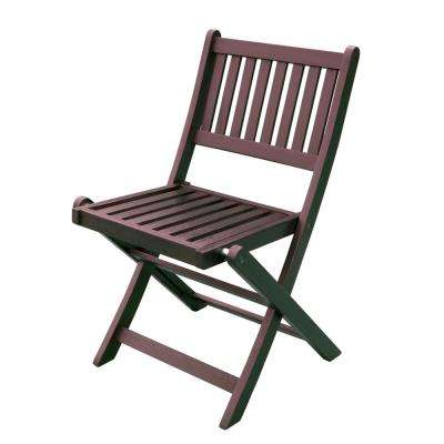 Foldable Eucalyptus Outdoor Dining Chair (4-Pack)