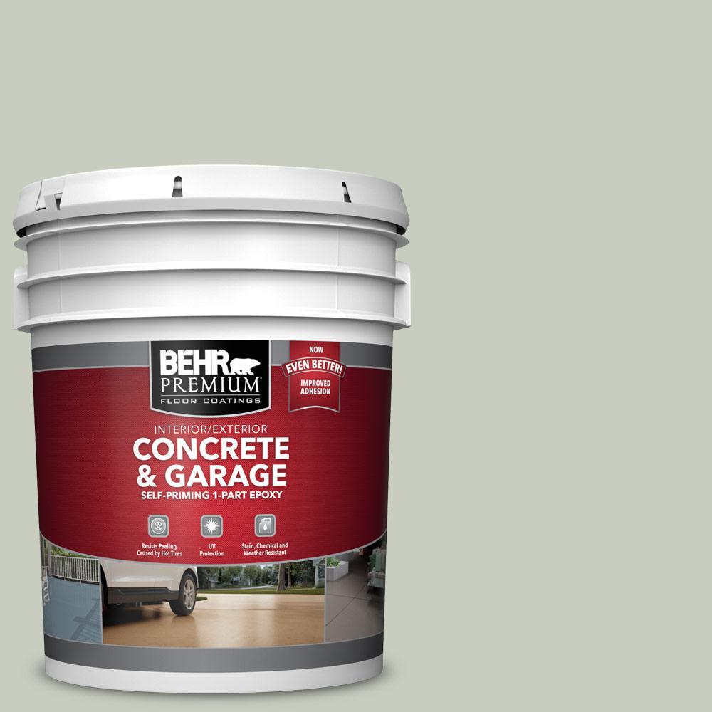 5 gal. #PFC-41 Terrace View 1-Part Epoxy Satin Interior/Exterior Concrete and Garage Floor Paint