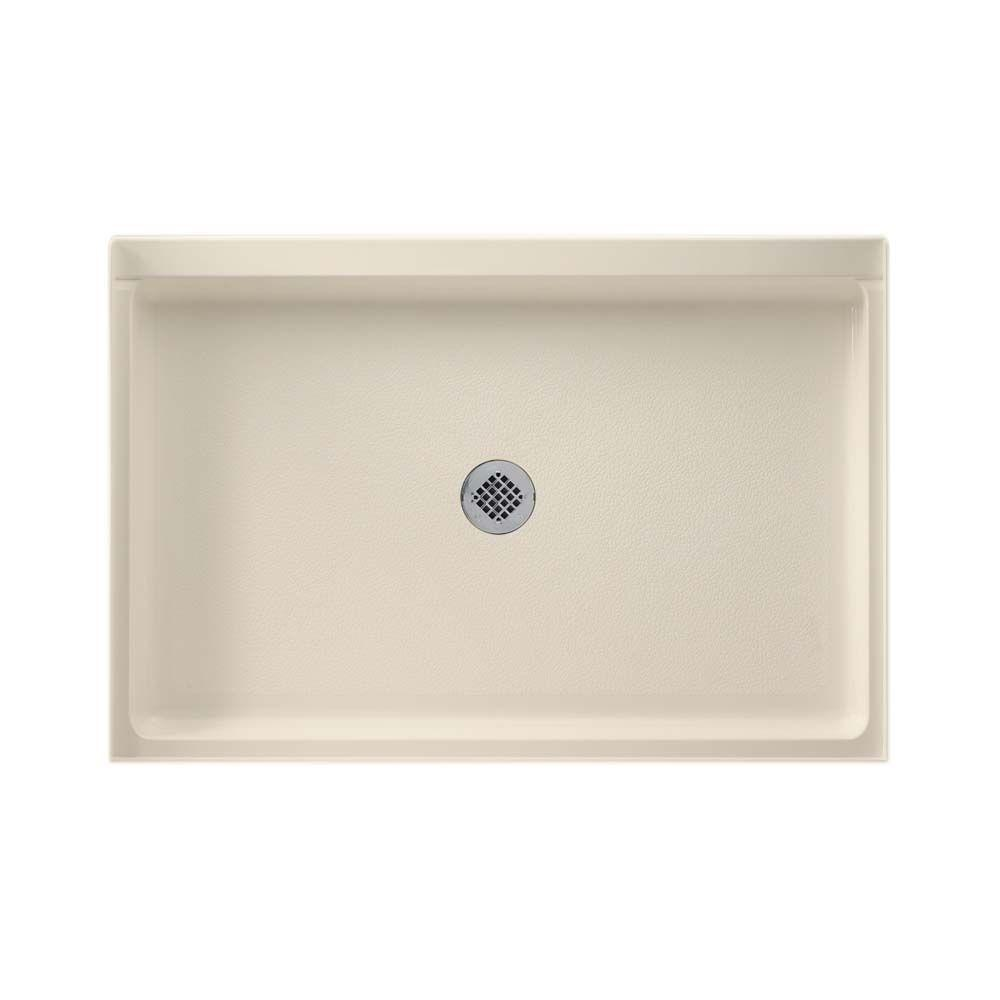 32 in. x 48 in. Solid Surface Single Threshold Shower Floor