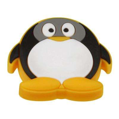 Kids Corner 1-1/2 in. Multi-Colored Penguin Cabinet Drawer/Door Knob