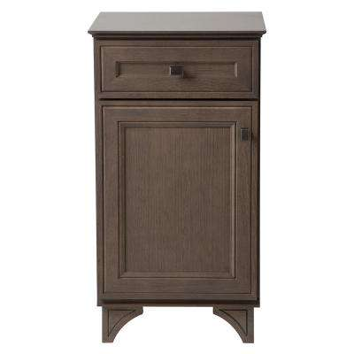 Albright 19 in. W x 35 in. H x 16 in. D Bath Vanity Cabinet Only in Winter Gray