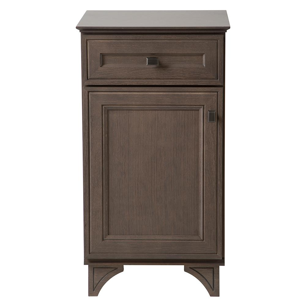 Home Decorators Collection Albright 19 In W Bath Vanity Cabinet Only In Winter Gray 19fvb18