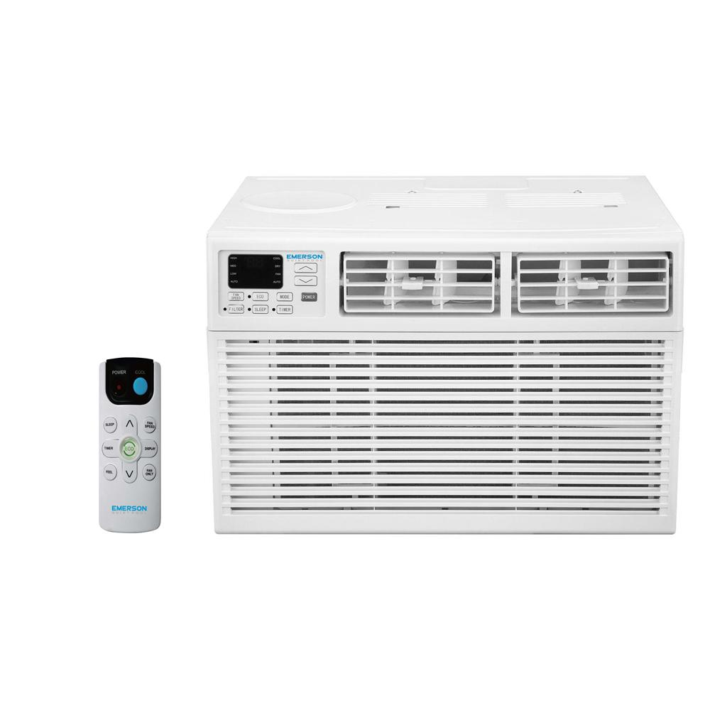 emerson quiet kool 6 000 btu 115 volt window air conditioner with rh homedepot com