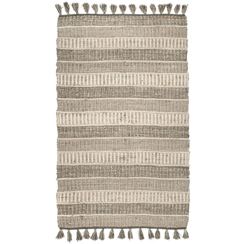 Kelvan Modern Striped Tribal Multi 4 ft. x 6 ft. Area Rug