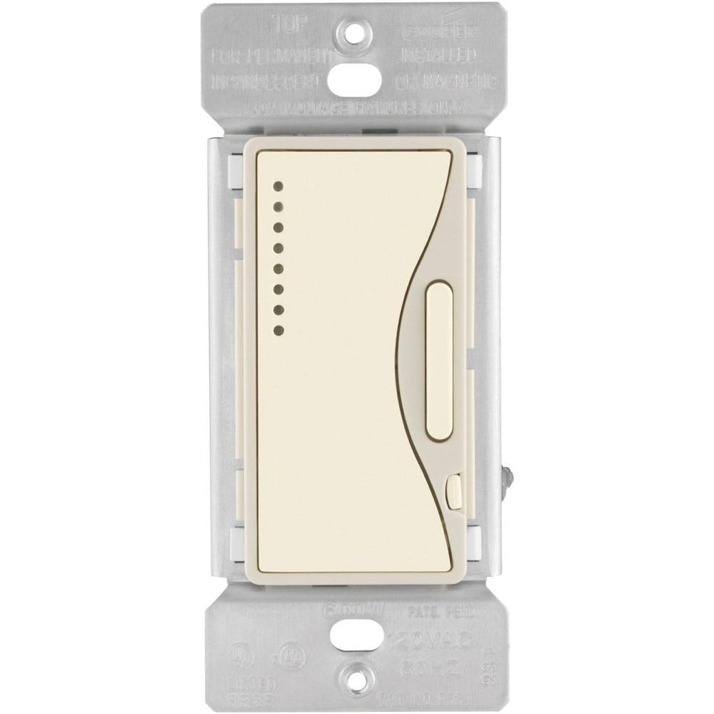 Aspire 600-Watt 120-Volt 60 Hz Single-Pole and Multi-Location Smart Dimmer,