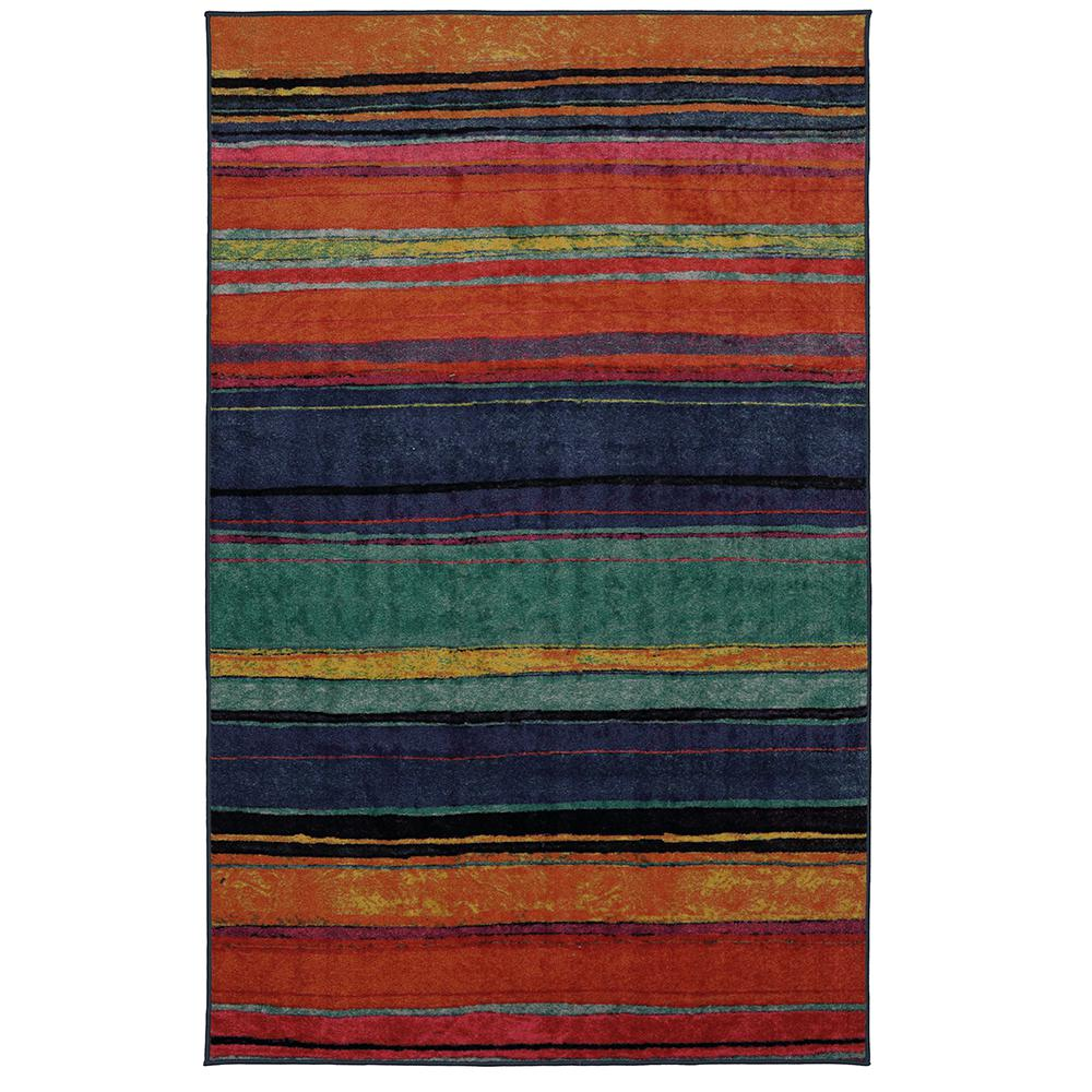 Mohawk Home Rainbow Kaleidoscope 8 Ft X 10 Area Rug