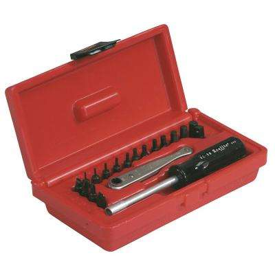 Midget Offset Ratchet Set (19-Piece)