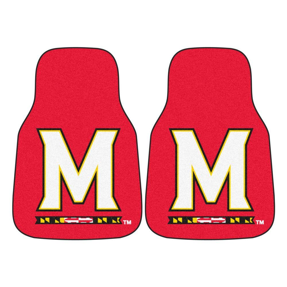 Fanmats University Of Maryland 18 In X 27 In 2 Piece