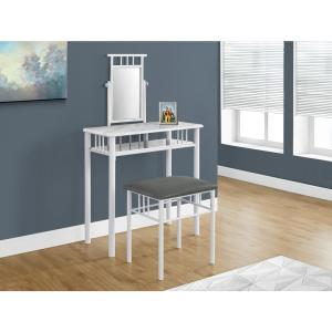 white metal vanity set. Monarch 2 Piece White Marble Look and Vanity Set I 3082  The Home Depot