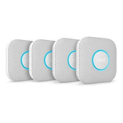 Protect Wired Smoke and Carbon Monoxide Detector (4-Pack)