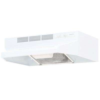 41000 Series 21 in. Non-Vented Range Hood in White