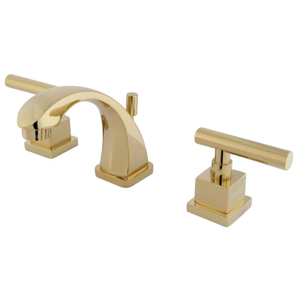 Kingston Brass Claremont 4 in. Minispread 2-Handle Mid-Arc Bathroom ...