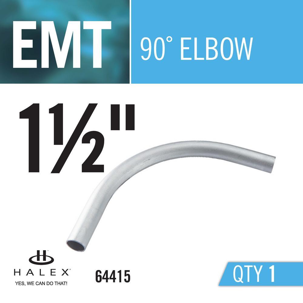 Halex 1-1/2 in  90-Degree Electric Metallic Tube (EMT) Elbow