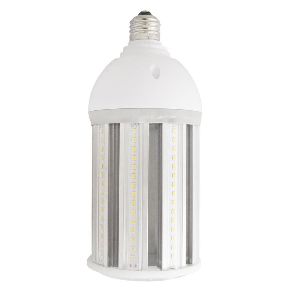 300 Watt Equivalent E26 Corn Cob Non-Dimmable LED High Lumen Daylight (5000K) Utility Light LED Light Bulb