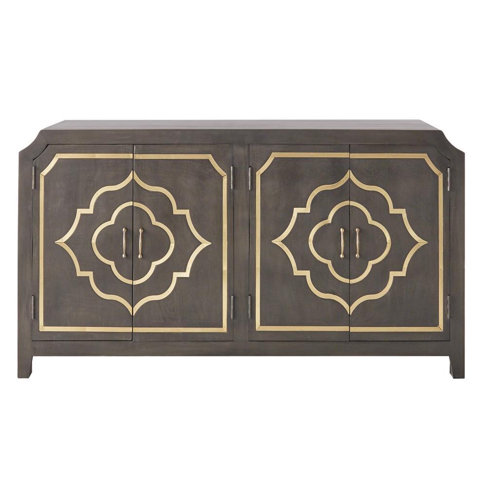Laila Slate Brown Dresser