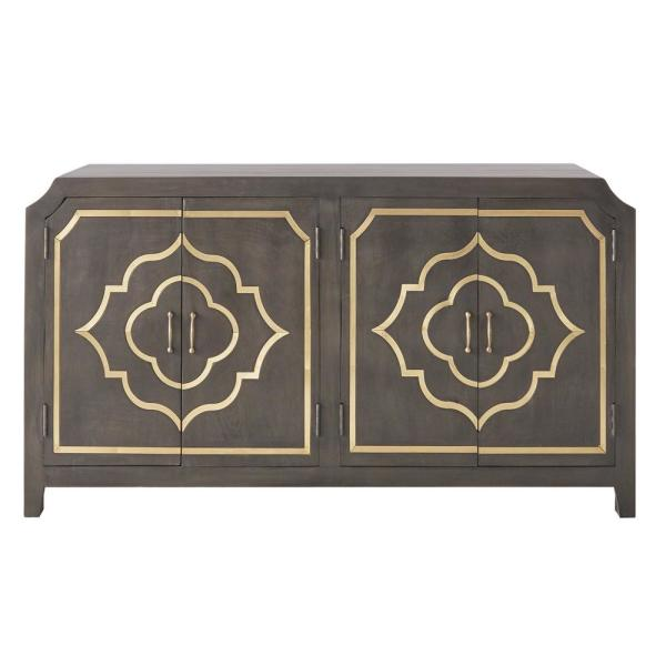 Home Decorators Collection Laila Slate Brown Dresser 9990600270