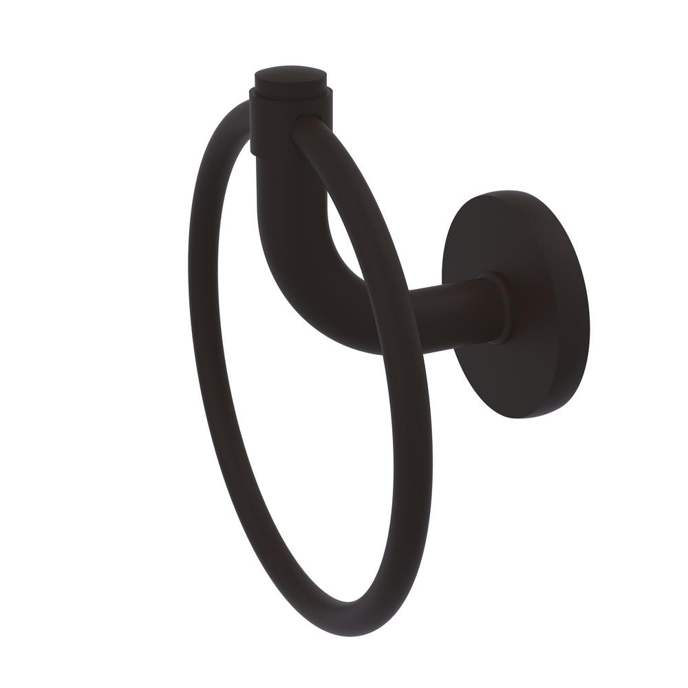 Allied Brass Remi Collection Towel Ring in Oil Rubbed Bronze