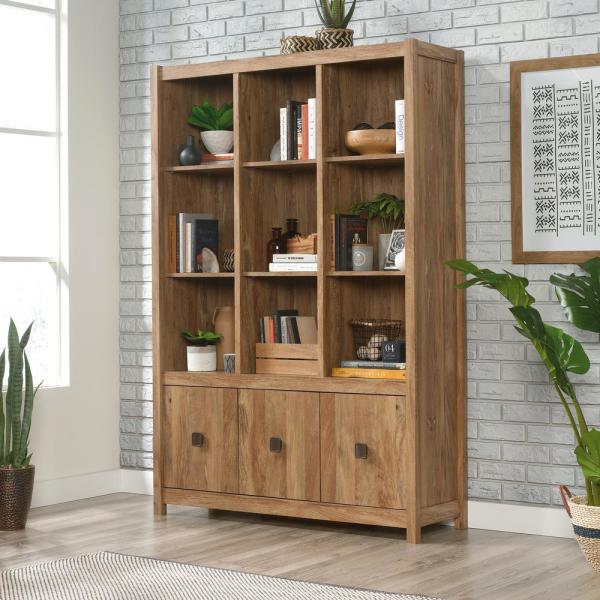 Gentil Cannery Bridge Sindoori Mango Wall Storage Cabinet. By SAUDER