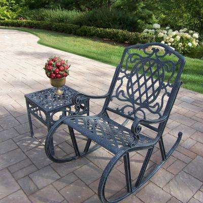 Mississippi Verdi Grey 2 Piece Outdoor Bistro Set