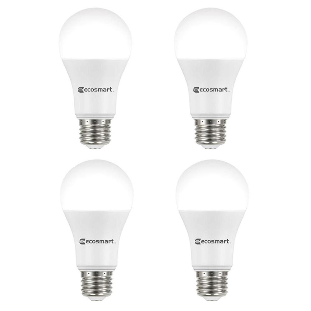75-Watt Equivalent A19 Dimmable ENERGY STAR LED Light Bulb Bright White (4-Pack)