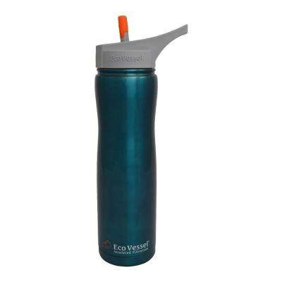 24 oz. Aqua Vessel Insulated Filtration Bottle in Turquoise Glow