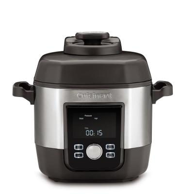 6 Qt. Electric Stainless Steel High-Pressure Pressure Cooker