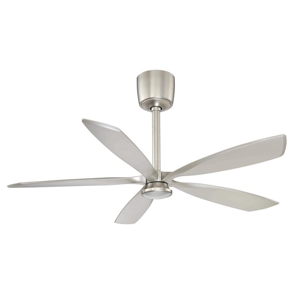 Phantom 54 in. LED Satin Nickel DC Motor Ceiling Fan