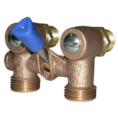 1/2 in. WM-1 Male Threaded Washing Machine Shut-Off Valves