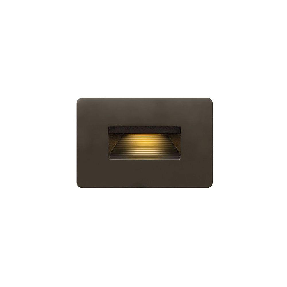 3.8-Watt Bronze Integrated LED 2700K Ultra Warm Luna Step Light