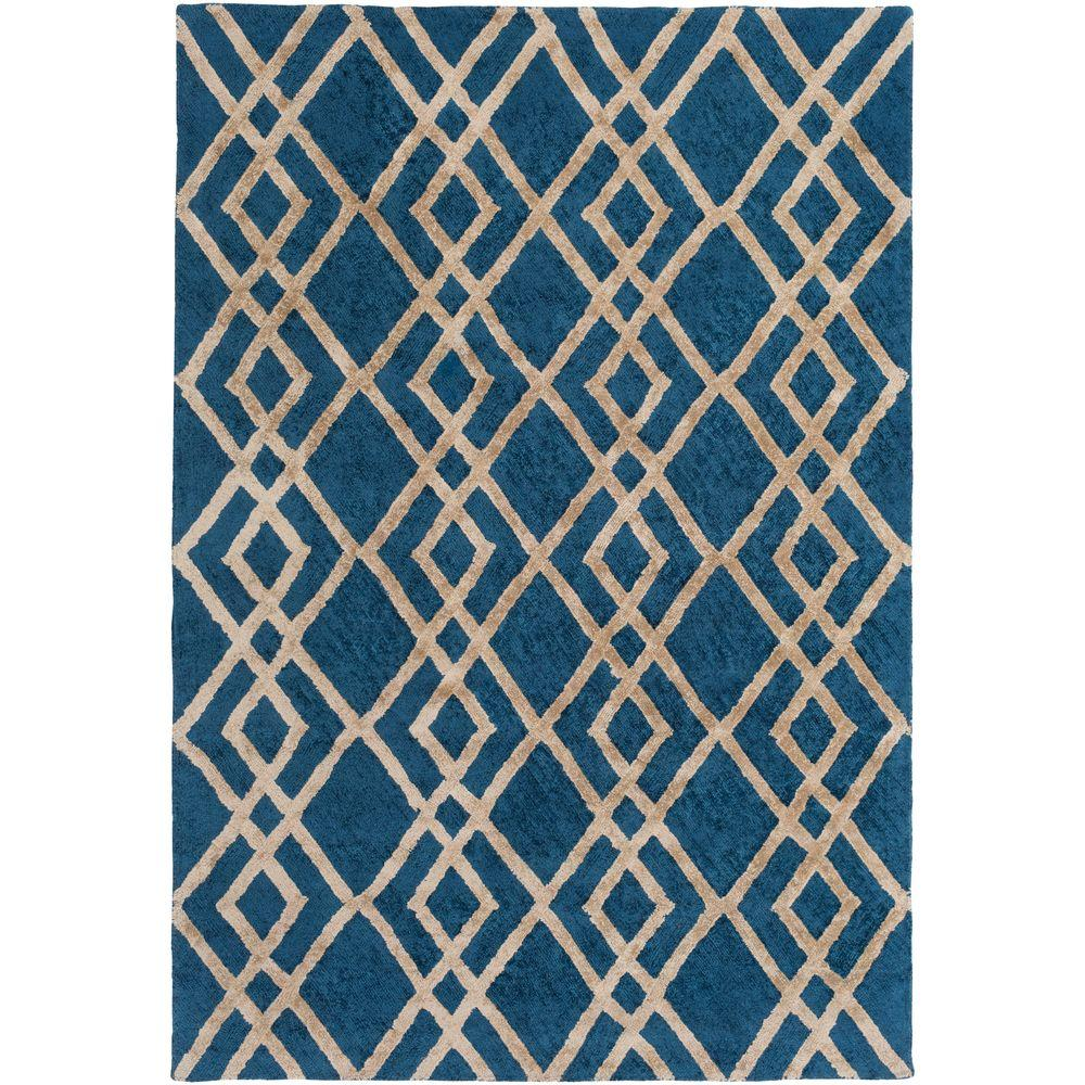 Silk Valley Lila Blue 2 ft. x 3 ft. Indoor Accent