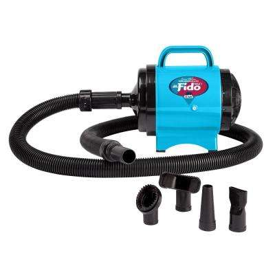 Cesar Millan Premier Grooming Collection 2 HP Fido Max 1 Pet Grooming Dog Dryer in Turquoise