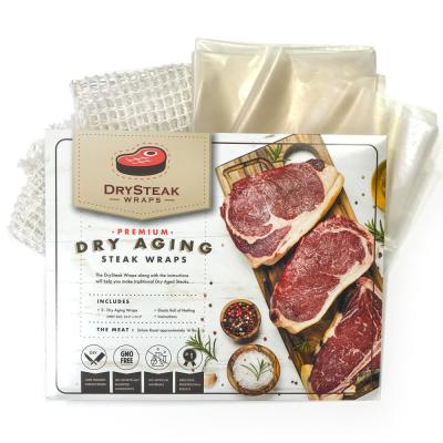 DrySteak Wraps for Dry Aging Meat at Home